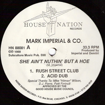 Chicago House aka Original House music :: House :: FunkySouls