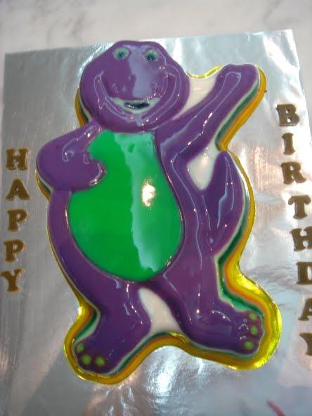 Barney Cake Decorating Game