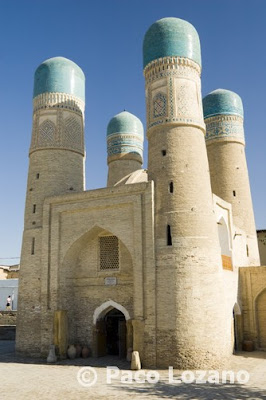Chor Minor Madrasah in Bukhara