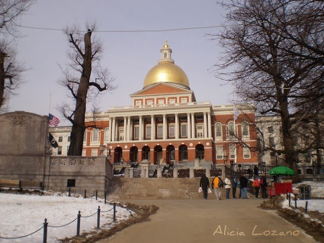 Massachusetts State House, Boston
