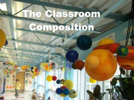 the classroom composition