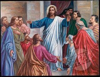Jesus Blessing people Wallpaper
