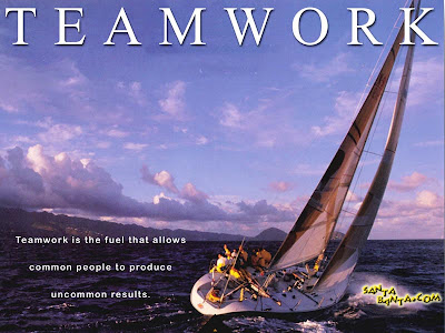 Motivational Wallpaper on Importance of Team Work: Power of Team