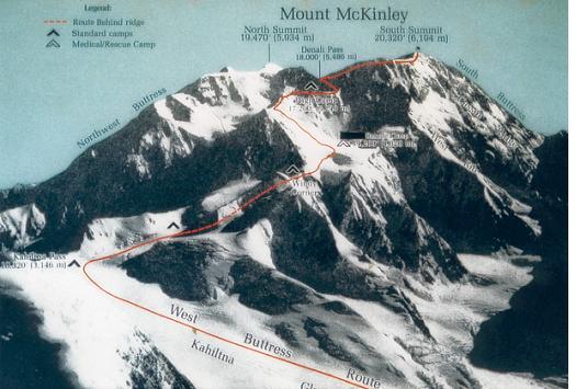 Monte Mckinley o Delani