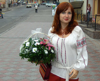 Ukrainian girl is going to the wedding