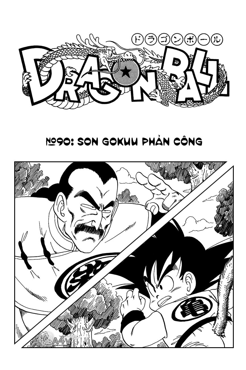 Dragon Ball chap 90 trang 1