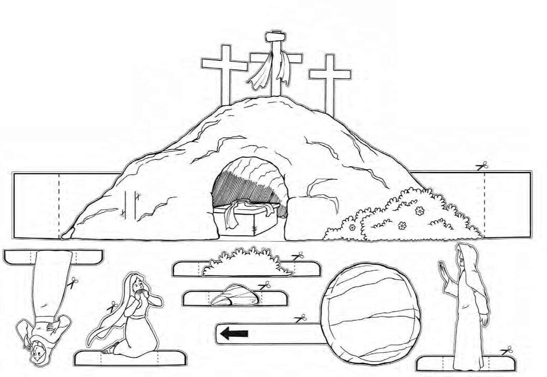 Cristo Resucito Para Ninos Manualidad
