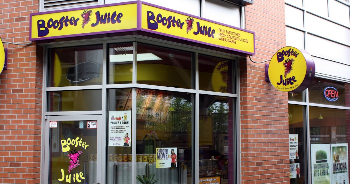 Sherman S Food Adventures Booster Juice