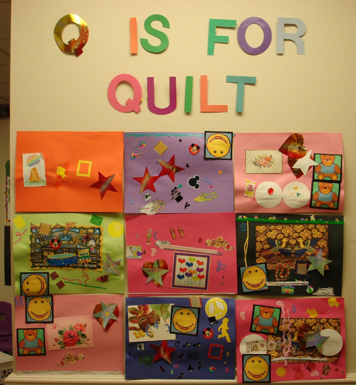 """Mrs. Karen's Preschool Ideas: The Letter """"Q"""""""