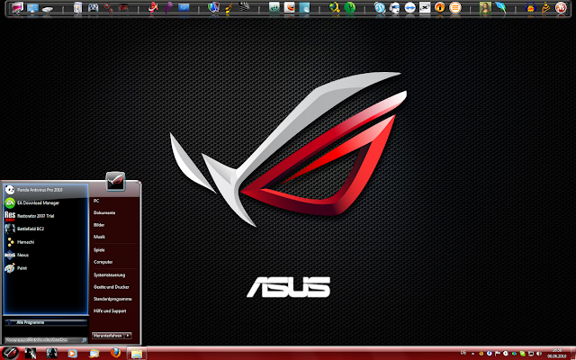 Windows 7 Theme: Asus Republic of Gamers ~ Solstice File