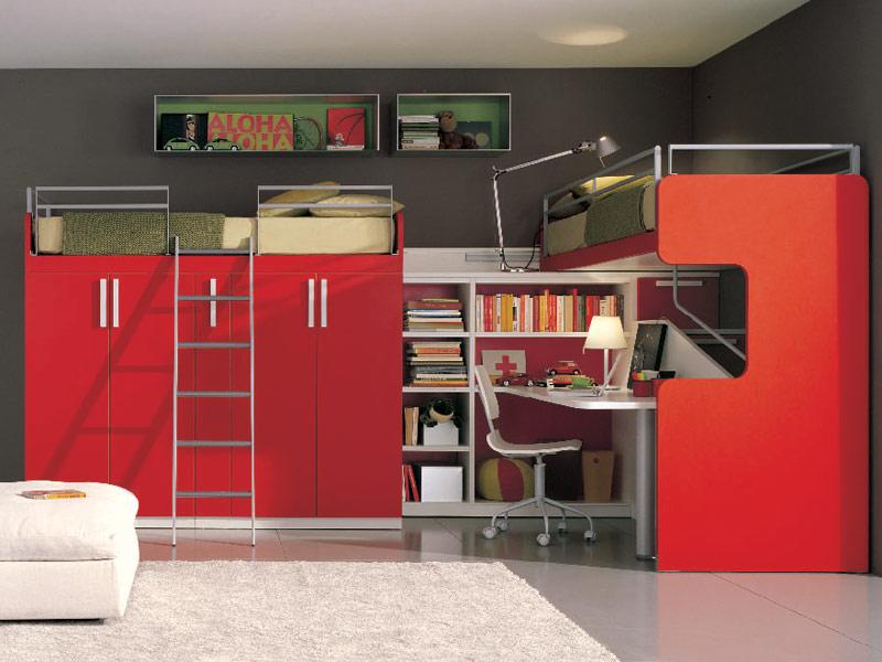 Decora y disena dormitorios juveniles modernos for Dormitorios modernos juveniles decoracion