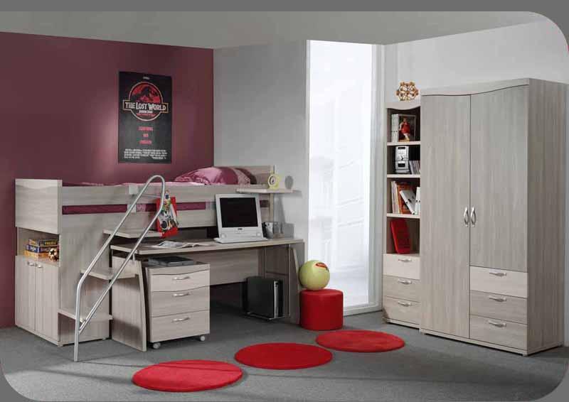 Moderno dormitorios rec maras juveniles por recor for Recamaras individuales modernas