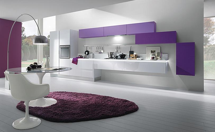 decora y disena 15 cocinas modernas italianas. Black Bedroom Furniture Sets. Home Design Ideas