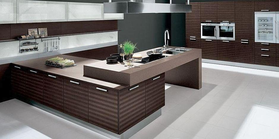 Decora y disena cocinas integrales modernas en color - Fotos de cocinas pequenas y modernas ...