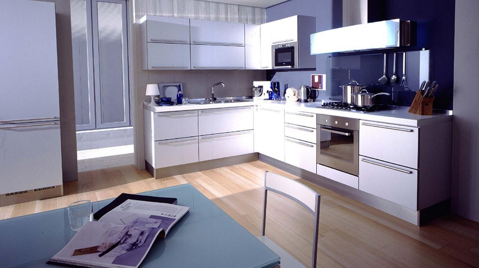Decora y disena 5 dise os de cocinas color azul - Diseno de cocinas online ...