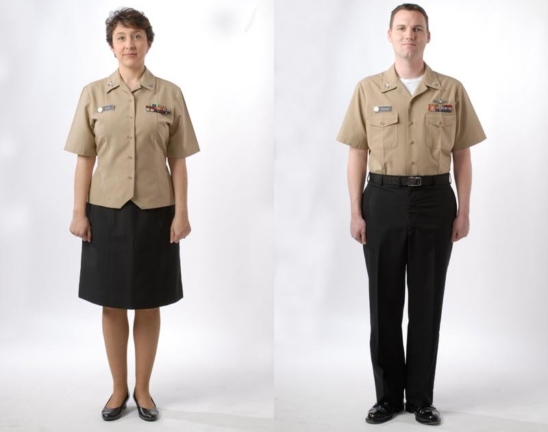 Navy Uniforms: Navy Enlisted Khaki Uniform Regulations