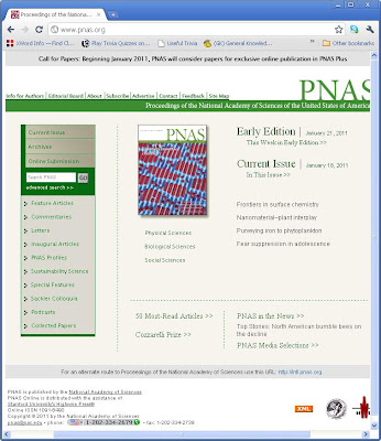 PNAS (Proceedings of the National Academy of Sciences)