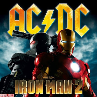 AC/DC Powers Up Iron Man 2 Soundtrack