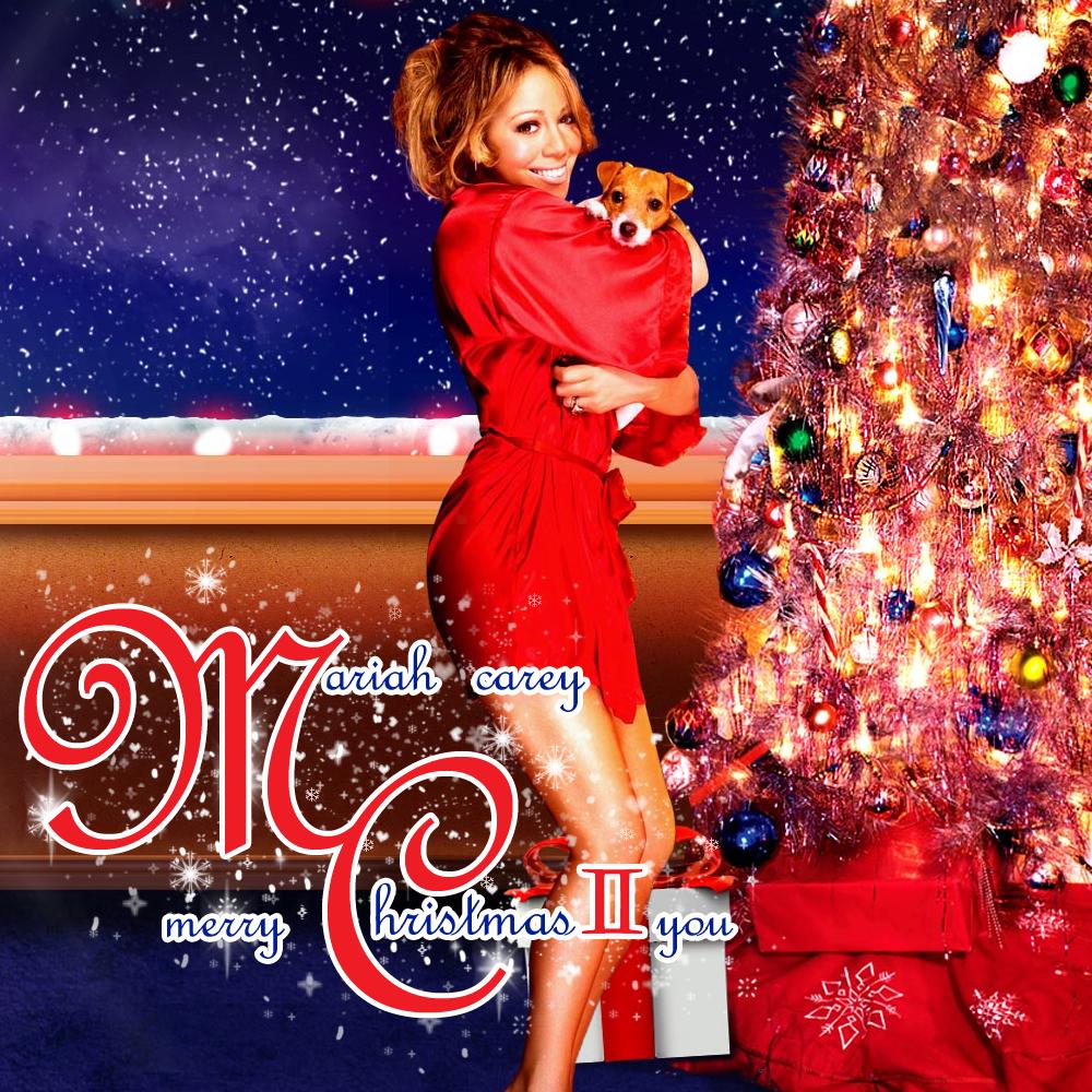 Mariah Carey Christmas Album Cover.Mariah Carey Merry Christmas Ii You Fan Made Album