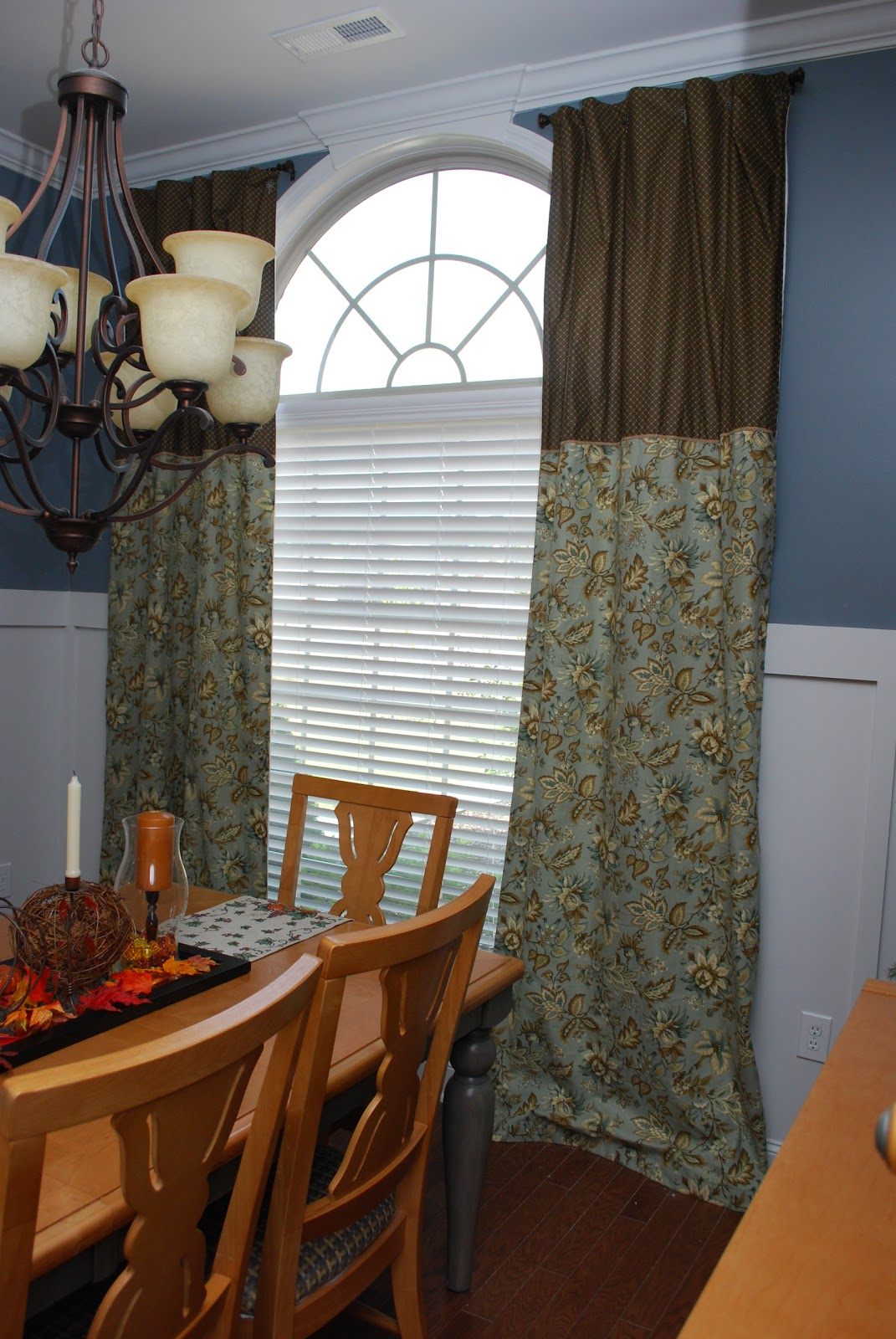 Fussy Monkey Business: Dining Room Curtains