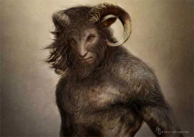 Manusia Kambing (Goatman)