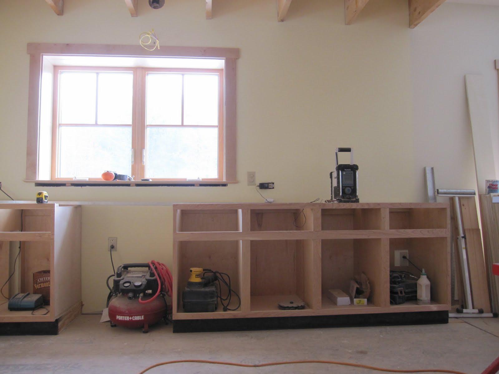 Lay Down A Kitchen Floor Under Cabinets