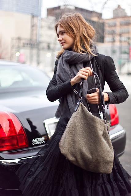 Antheia bag Louis Vuitton Natalia Vodianova