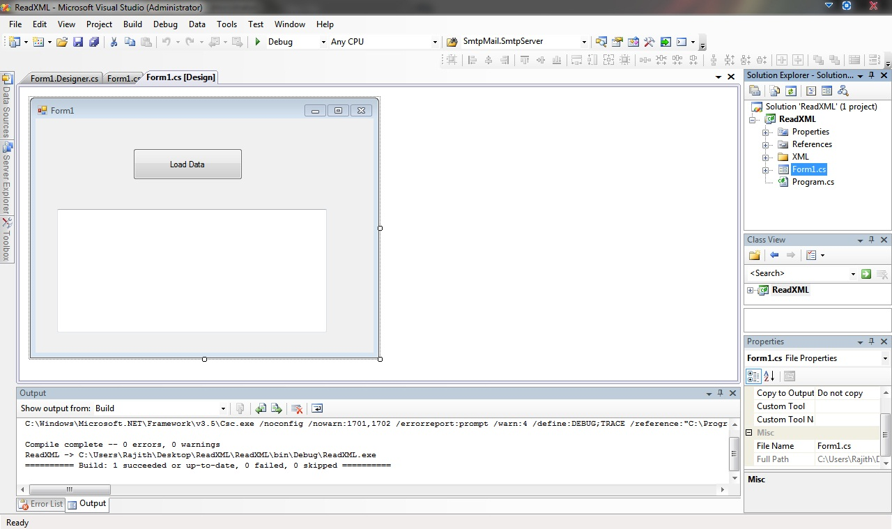 Looping around with Rajith   : Read XML file from C# using Microsoft
