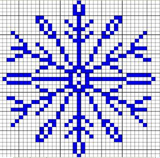 ChemKnits: Snowflake Knitting Charts
