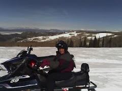 Snowmobiling in Brian Head, Utah