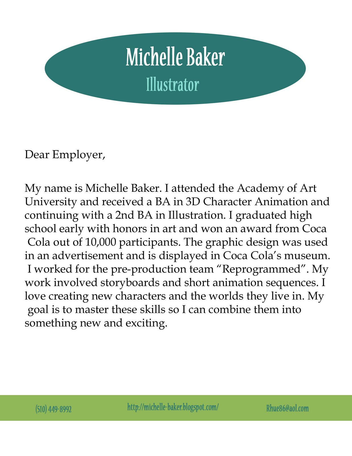 Quick Cover Letter | Resume CV Cover Letter