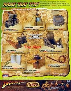 Burger King Indiana Jones and the Kingdom of the Crystal Skull Kids Meal Toys 2008 Set of 8
