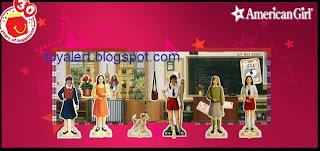 McDonalds American Girl books 2009 - Molly classroom activity