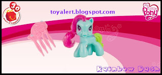 McDonalds USA Astro Boy and My Little Pony Toy Promotion 2009 - Rainbow Dash