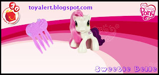 McDonalds USA Astro Boy and My Little Pony Toy Promotion 2009 - Sweetie Belle