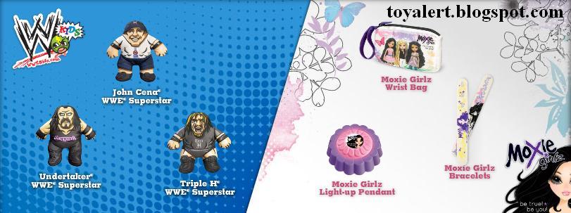Burger King Wwe Superstar And Moxie Girlz Kids Meal Toys Mervin