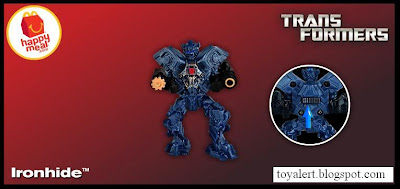 McDonalds Transformers Happy Meal Toys 2010 - Ironhide