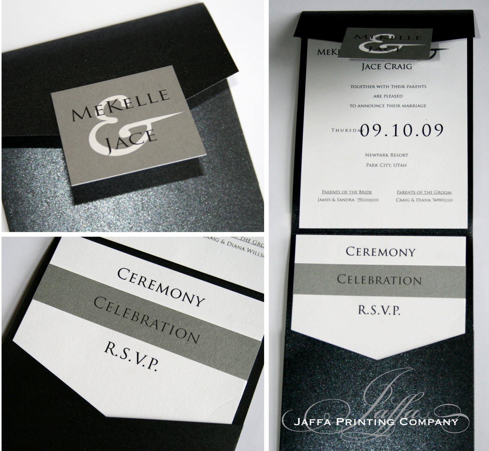 Wedding Invitation Blog: Pocket Invitations