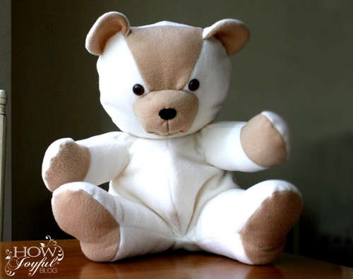 Creative ideas for you: Free Teddy Bear Pattern and Tutorial