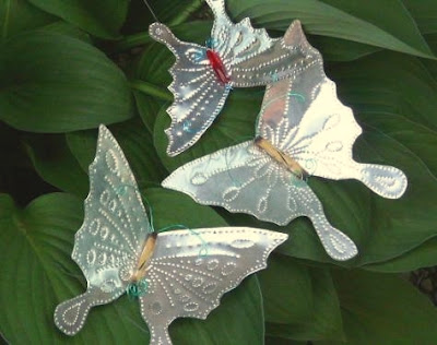 Creative Ideas For You How To Make Punched Tin Butterflies
