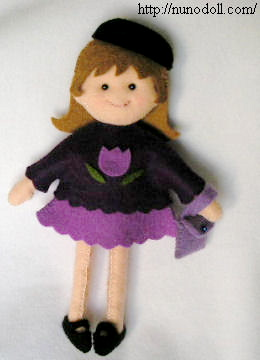 Creative ideas for you Free Patterns and Instructions for Felt Dolls and Clothing