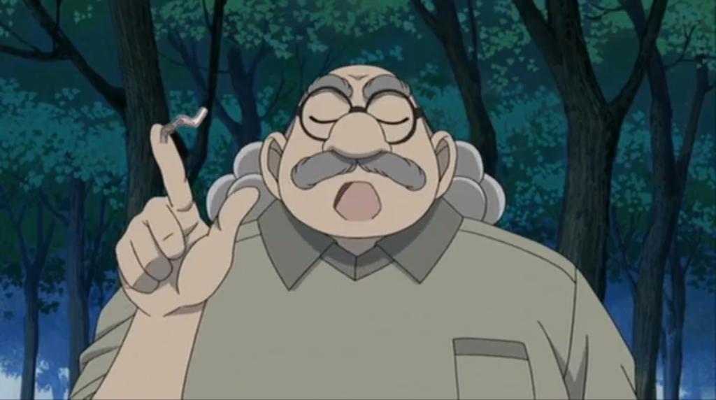 Hiroshi Agasa. Ia adalah seorang Profesor dalam manga dan anime Detektif  Conan. Ia adalah sahabat Shinichi Kudo. Ia tinggal di sebelah rumah  Keluarga Kudo.