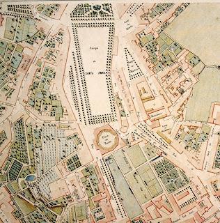 campo santana lisboa mapa RUAS DE LISBOA ALGUMA HISTÓRIA: CAMPO DOS MÁRTIRES DA PÁTRIA [ I ] campo santana lisboa mapa