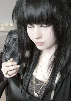 Hairstyles & Haircuts: Long Emo Haircuts for Girls 2010 Winter