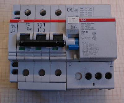 Electricidad electricitat interruptores autom ticos - Interruptor general automatico ...