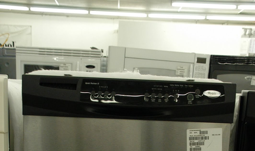 Lets Talk Appliances Whirlpool Stainless Steel Quiet Partner II Dishwasher Appliance Stores