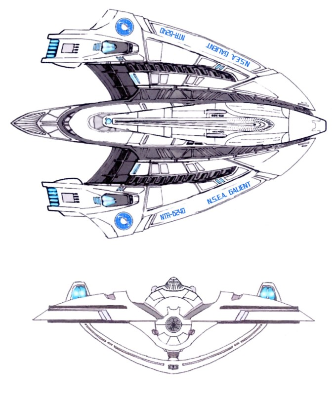 Galaxy Quest Ship Designs
