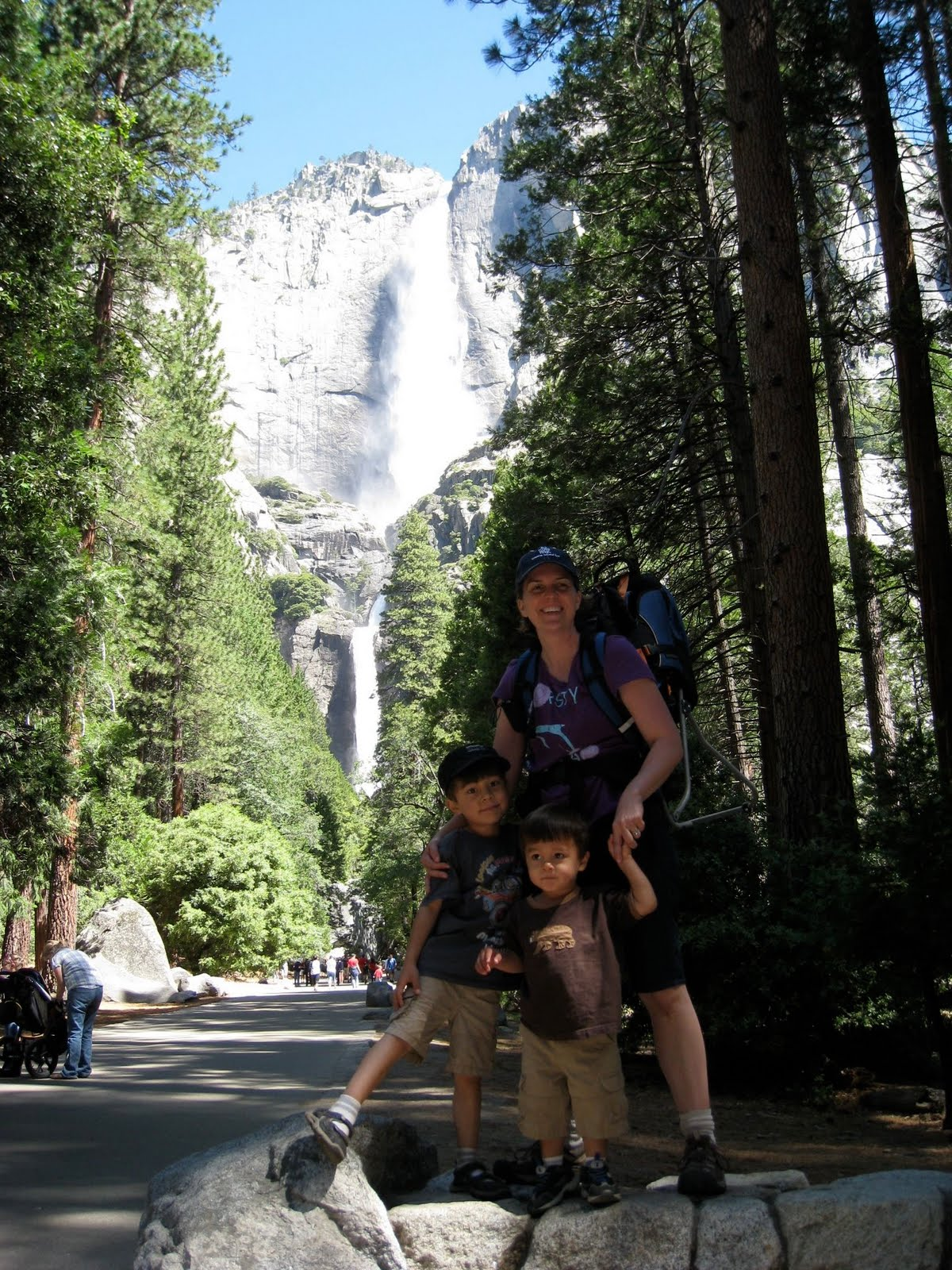 Finding Lower Yosemite Falls