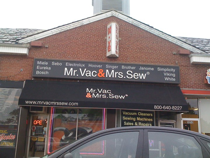 Mr Vac Mrs Sew