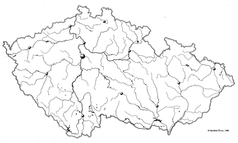 Mapa Slepa Mapa Cr Pohori Online